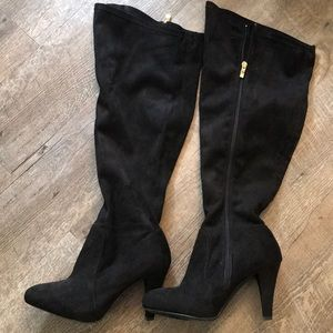 Boots- over the knee thigh high